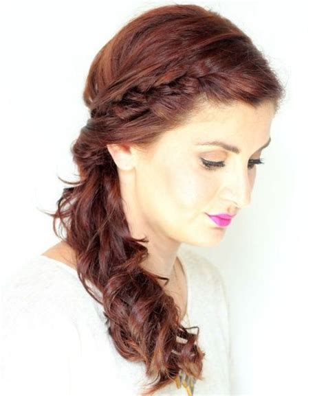 how to wear a ponytail at 40 17 best ideas about curly side ponytails on pinterest