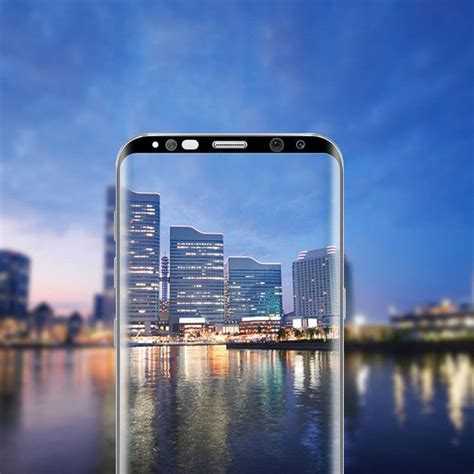 Kingkong Tempered Glass Samsung Galaxy S8 Curved 3d 9h hardness 0 3mm real toughened tempered glass for