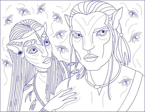Avatar Coloring Pages by Avatar Coloring Pages Coloring Pages To Print