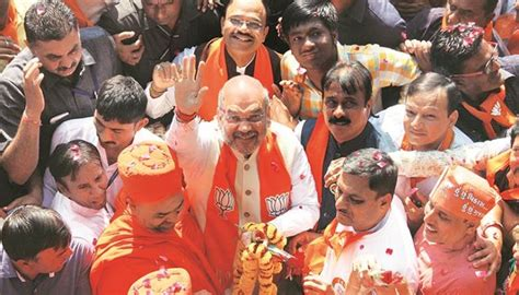Gujarat Elections Amit Shah S New Campaign Technique To