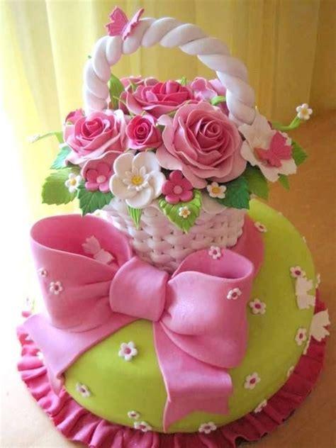 imagenes en porcelana fria libelulas pastel de canasta con flores imagui