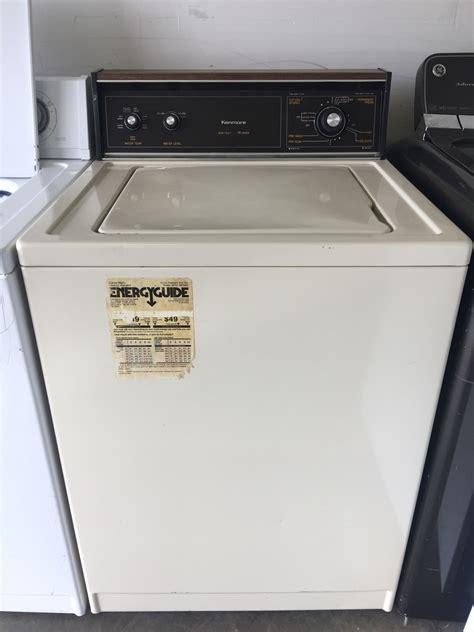 kenmore kenmore  series top load washing machine