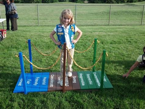coree themes girl scouts our easy to create bridge that my daisy s built troop