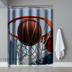 sports themed shower curtains 1000 images about kid s room on pinterest baseball