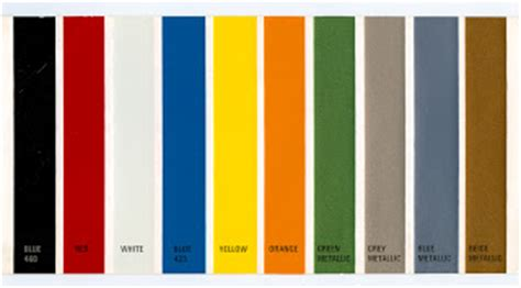 renault colour chart ebay things to make and do colour charts