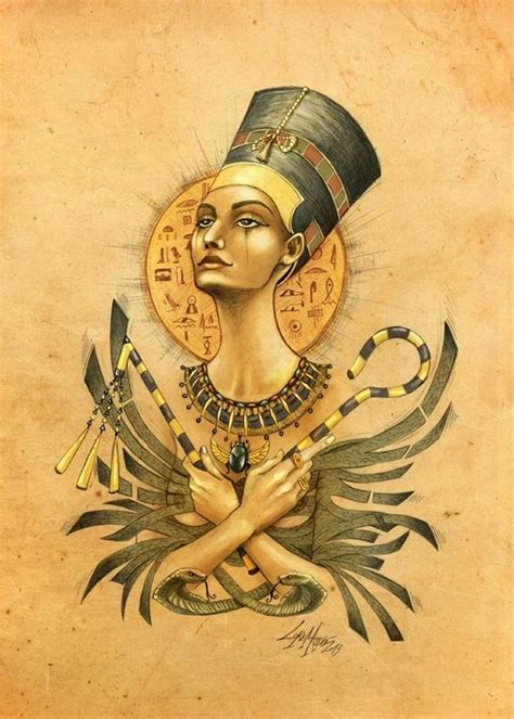 nubian queen tattoo nefertiti memories and on
