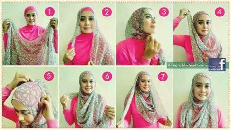 tutorial kerudung pashmina polos tutorial jilbab segi empat syar i