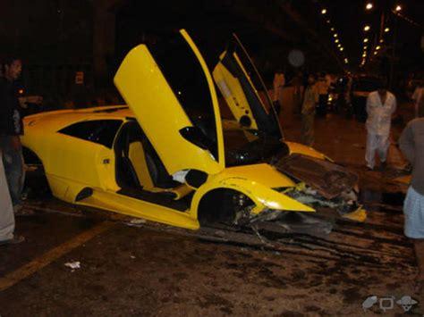 Who Owns Lamborghini In India India S Most Expensive Car Crash A Lambo Lp 640