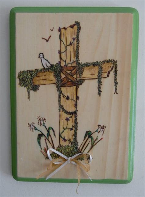 Home Decor Crosses by 17 Best Images About Christian Pyrography On Pinterest
