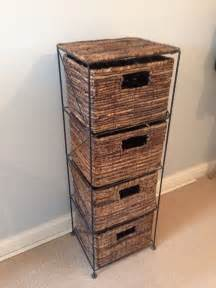 rattan wicker chest of drawers in portishead