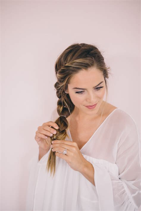 hairstyles that are twisted on one side and curly on the other twisted side braid tutorial gal meets glam