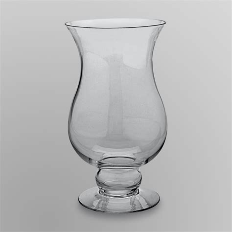 Big Glass Candle Holders Essential Home Large Glass Pillar Candle Plate Food