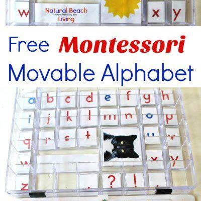 free printable montessori alphabet printables archives natural beach living