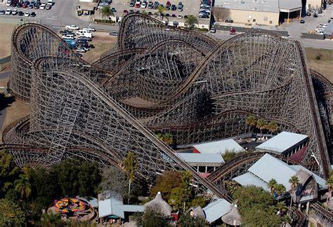 Busch Gardens Gwazi by Busch Gardens To Gwazi Wooden Roller Coaster Tbo
