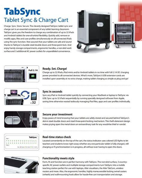 Aver Tabsync aver tabsync tablet sync and charge cart 61o2s20000ae