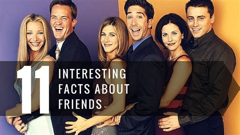 friends facts 11 things you don t about friends tv