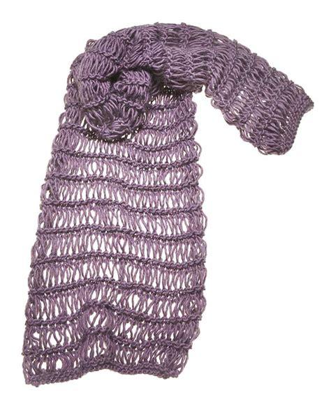 fiori uncinetto giuliano marelli sciarpa con le maglie allungate hobby e casa