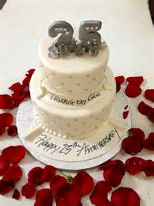 25 th anniversary cake anniversary ideas pinterest
