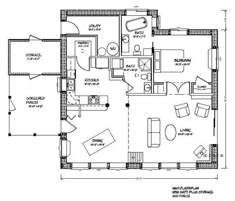 cob house floor plans eco nest 1200 plan one floor living with a loft area