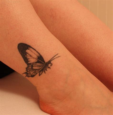 small butterfly tattoos on ankle ankle tattoos