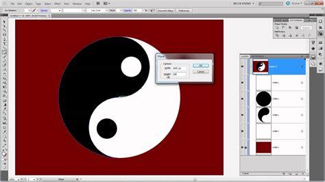 illustrator tutorial yin yang illustrator yin yang youtube