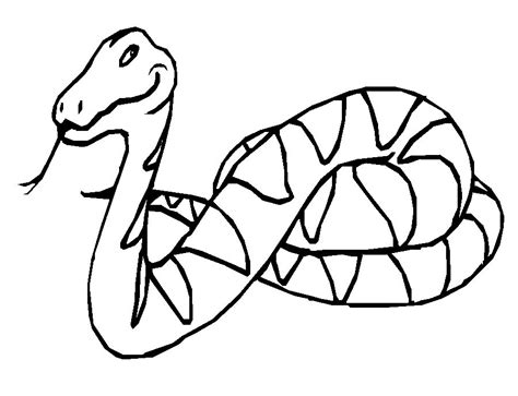 Snake Coloring Pages To Print free printable snake coloring pages for