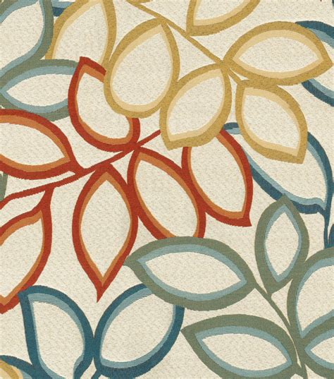 fabric for upholstery upholstery fabric richloom studio poeme tropical at joann com