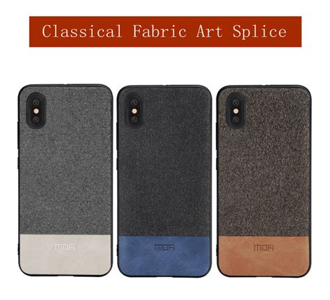 Iphone X Cover Mofi mofi for iphone x cover silicone edge