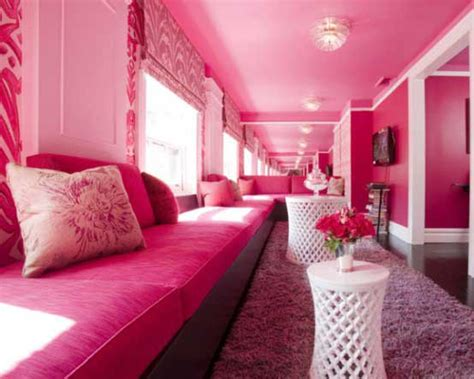 pink colour bedroom decoration pink color for charming living room decor