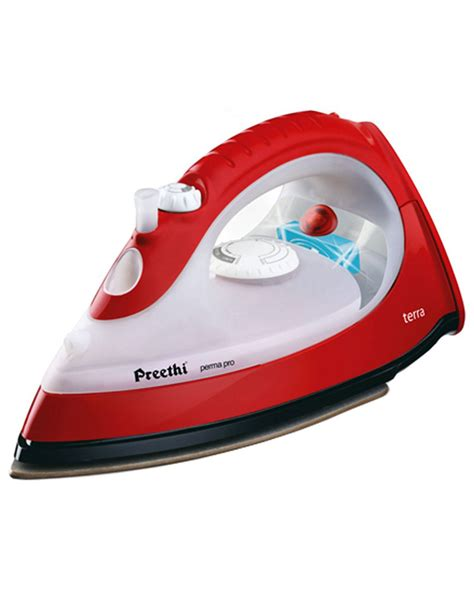 buy preethi terra    watt steam iron box
