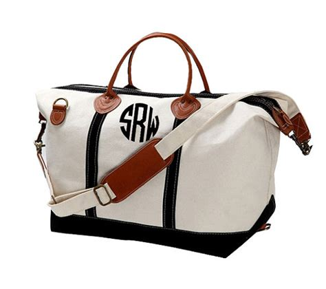 Great Gifts For Handbag by Monogram Canvas Weekender Bag Large Great Gift For