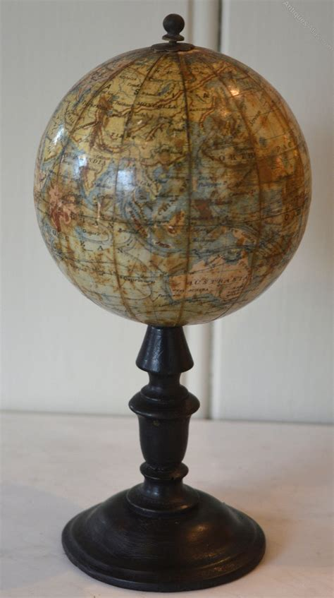 Small Desk Globe by Antiques Atlas 4 Quot Terrestrial Desk Globe C 1870