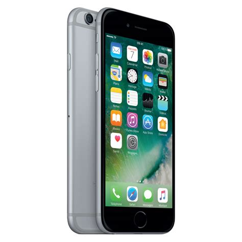 i iphone 6 apple iphone 6 32 go gris sid 233 ral mobile smartphone apple sur ldlc