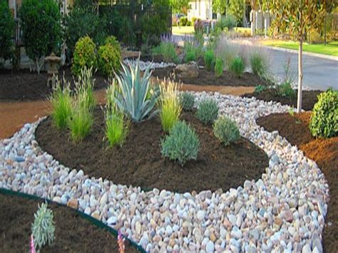 Landscaping Mulch Ideas Landscape Design Mulch And River Rock Landscaping River Rock Edging Ideas Interior