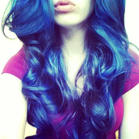 splat blue envy blue hair color pinterest colored