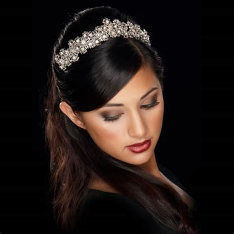 American Wedding Hairstyles With Tiara by American Bridal Hairstyles Tiara