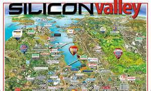 Silicon Valley 2016 Silicon Valley Interactive Map Silicon Maps