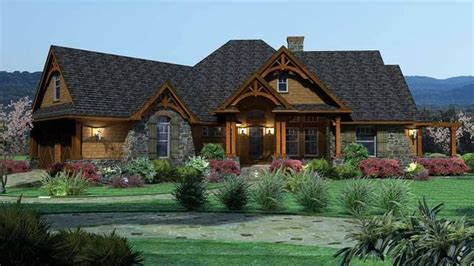eplans ranch house plan tavern like features 2091