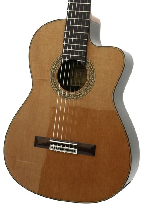 Gitar Clasic Eq Tas esteve 1gr07ce classical guitar with eq