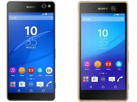 Hp Sony M5 Ultra Sony Xperia C5 Ultra Xperia M5 Selfie Focused Smartphones Launched Technology News