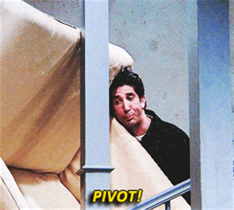 friends couch pivot chandler bing pivot shut up gif wifflegif