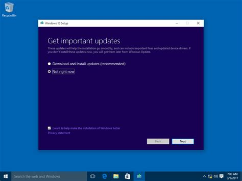 install windows 10 before notification how to upgrade to windows 10 version 1803 spring creators