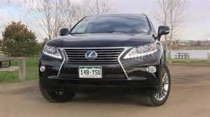 2014 lexus rx 450h hybrid of awd luxury review the