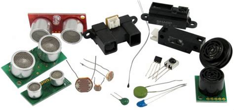 sensor type different types of sensors based engineering projects and