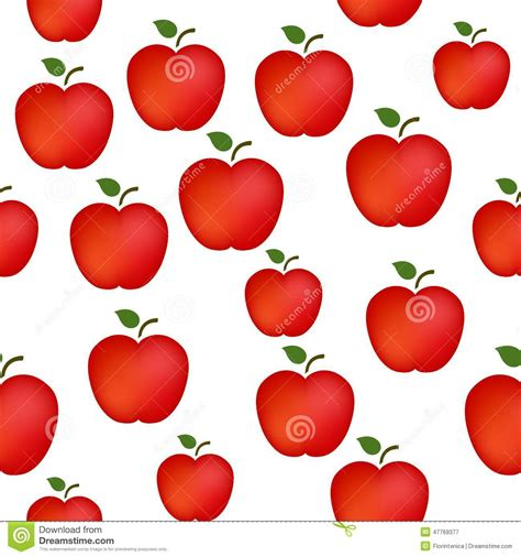 pattern apple background apple pattern stock illustration image 47769377