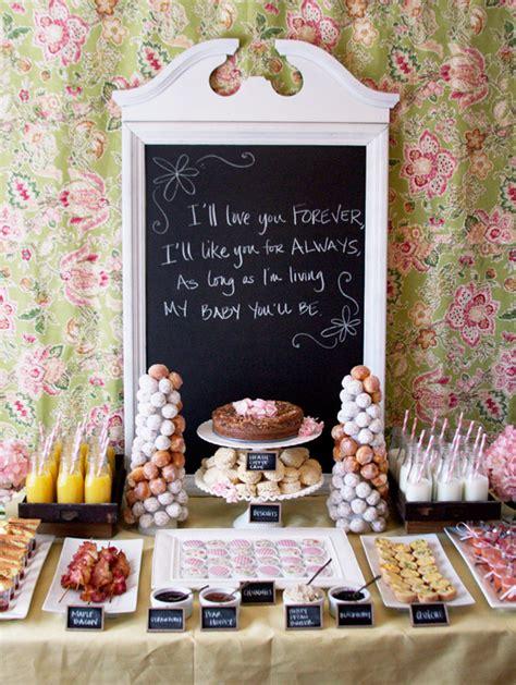 bar ideas for baby shower trend food quot bar quot ideas dimple prints