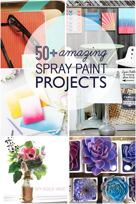 amazing diy crafts 50 amazing diy spray paint projects to make