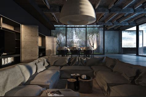 industrial home design industrial style home design
