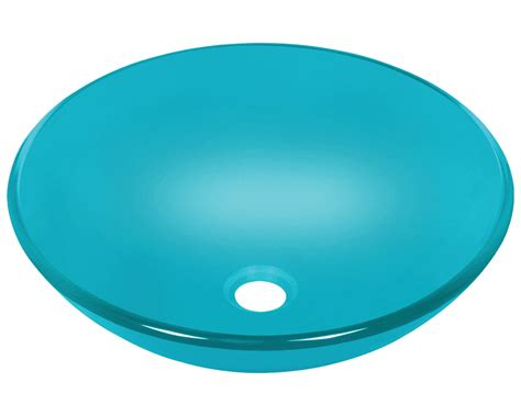 colored bathroom sinks 601 turquoise glass vessel sink