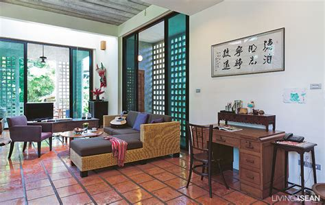 Traditional Interior Design by Modern Thai Style House